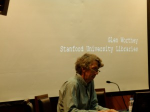 Glen Worthey en la UNAM
