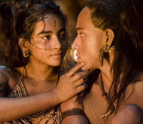 A scene from Apocalypto (2006). Photograph: Cortesia/EPA.