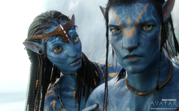 escena de Avatar, de James Cameron (2009)